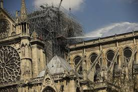 bells of french cathedrals ring in