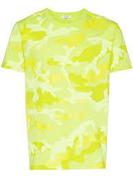 Valentino Shirt Size Chart Valentino T Shirts Vests Camouflage Cotton T Shirt