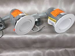 lithonia lighting 4 in matte white recessed gimbal integrated led lighting kit sku 762461 retail 42 67 each no pkg