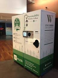 Reverse Vending Machine Recycling