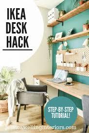 simple diy ikea desk tutorial