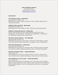 Bartender Resume Examples Bartender Resumes Samples This Is Resume