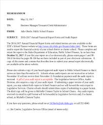 Memo To Board Of Directors New 32 Financial Memo Examples Samples PDF Word Pages