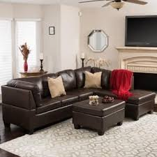 leather couches living room. Canterbury 3-piece PU Leather Sectional Sofa Set By Christopher Knight Home Couches Living Room P