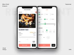 restaurant menu design app restaurant menu exploration with filter menu restaurant