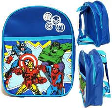<b>Marvel Avengers</b> Toddler 11 inches Small <b>Backpack</b> - Rare #Marvel ...