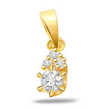 golden sunshine beauty 0 35ct vs clarity diamond gold pendants surat diamond jewelry