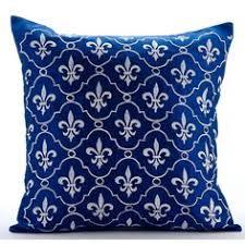 royal blue decorative pillows. Modren Decorative Decorative Throw Pillow Covers Accent Couch Toss Sofa Case  16x16 Royal Blue Silk Inside Pillows R