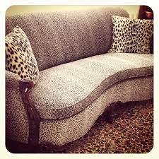 Chaise Safari Tiny Chaise Leopard Print Lounge Uk Furniture