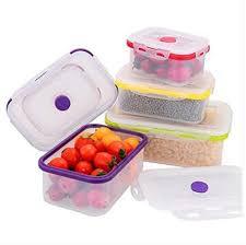 Silicone Crisper Set <b>Rectangle</b> Seal <b>Refrigerator Storage Box</b> ...
