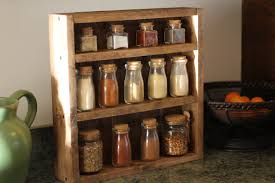 Kitchen Spice Rack Rustic Wooden Spice Rack Wooden Spice Rack Kitchen Rack Wedding