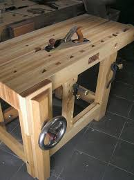 Roubo Bench With Hand Made Wooden Wagonvise  FineWoodworkingRoubo Woodworking Bench