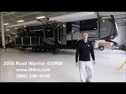 i94rv 2016 heartland road warrior 420rw toy hauler side patio