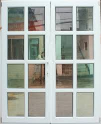 perfect double glass doors pvc french doors patio doors with double glass pvc u