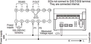 kw1m eco power meter dimensions automation controls industrial one current transformer ct is required