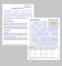 Emergency Contact Form Premium