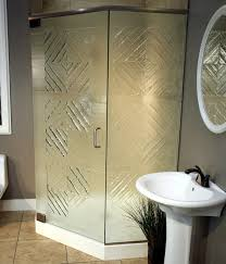 frosted shower doors. Cottage Glass Cast Frosted Shower Doors