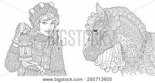 Coloring Pages Vector Photo Free Trial Bigstock