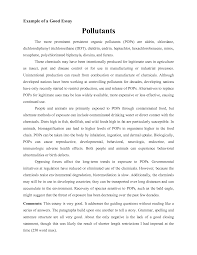 Well Written Persuasive Essay Example Samples Of Essays For