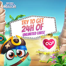 Angry Birds Match - Check out Matilda's Basic Chest this weekend! There's a  higher chance of ? UNLIMITED LIVES ? up to 2️⃣4️⃣ hours. Go and crack  some chests NOW!