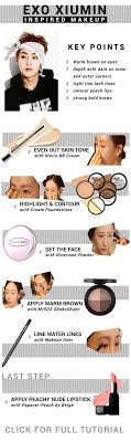 exo xiumin inspired smokey eye makeup tutorial