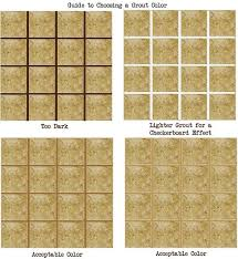 what color grout to use with white subway tile how to choose a grout color mosaic
