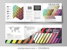 Fun Brochure Templates Fun Tri Fold Brochure Template Stock Vectors Images