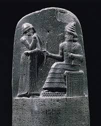 tell asmar statuettes victory stele of naram sin law code of  the upper part of the stela of hammurapis code of laws