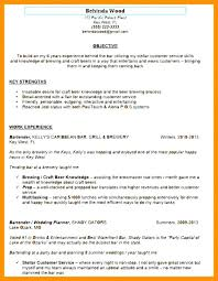 Resume For Bartender Classy Example Of Bartender Resume We Do And Wed Love To Share The Keys For
