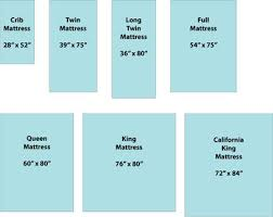 Crib Mattress Size Chart A Quick Reference Guide To Standard Mattress Sizes
