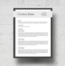 Looking For A Professional Resume And Cover Letter Template The