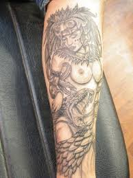 Great Looking Anchor Tattoo For Mens Leg
