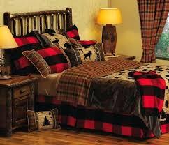 log cabin bed set beautiful log cabin bedroom comforter sets using deer hunting regarding set plans