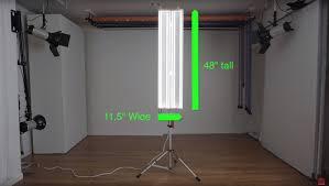 diy photography led studio lights for portraits headshots