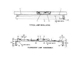 fluorescent lights outstanding fluorescent light parts 105 regarding fluorescent light fixture parts diagram
