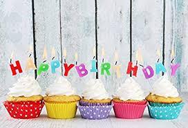 Amazoncom Aofoto 5x3ft Happy Birthday Backdrop Candles Cute