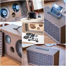 Diy Bluetooth Speaker Design Turn An Old Loudspeaker Into A Self Amplified Bluetooth