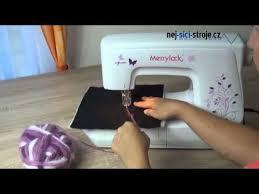 Zatkávačka <b>Merrylock</b> SP 1100 - YouTube