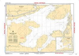 My Chart Chs Chs Nautical Chart Chs6390 Great Bear Lake