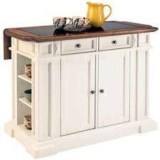High Quality White And Oak Kitchen Island With Drop Leaf Awesome Design