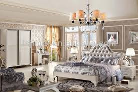 high gloss fancy bedroom set qmx