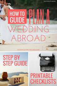 Planning Wedding Abroad Tips
