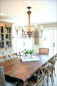 chandelier for dining table colorful dining room