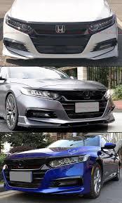 2018 Accord Fog Light Kit Fits For 2018 2019 Honda Accord Akasaka Glossy Black Front