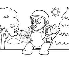 Small Picture special agent oso coloring pages Printables for Kids Pinterest