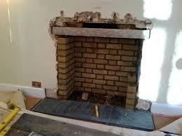 build mantel over brick fireplace building chimney