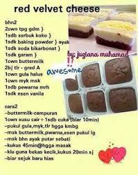 Red Velvet Cake Resepi Kek Cake Recipes Cake Cookies Bread Cake