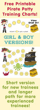 Printable Pirate Potty Training Reward Charts Tips