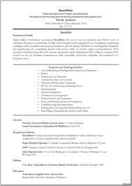 Contemporary Pipefitter Resume Pdf Composition Documentation