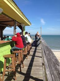 Kure Beach Tide Chart Carolina Beach Nc Pier Tiki Bar In 2019 North Carolina